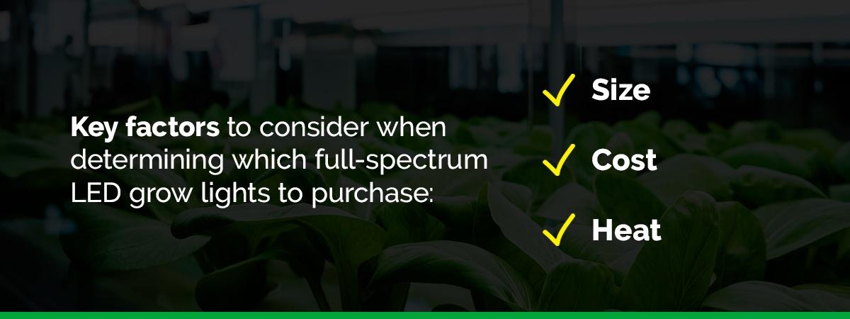 The Best Full-Spectrum LED Grow Lights