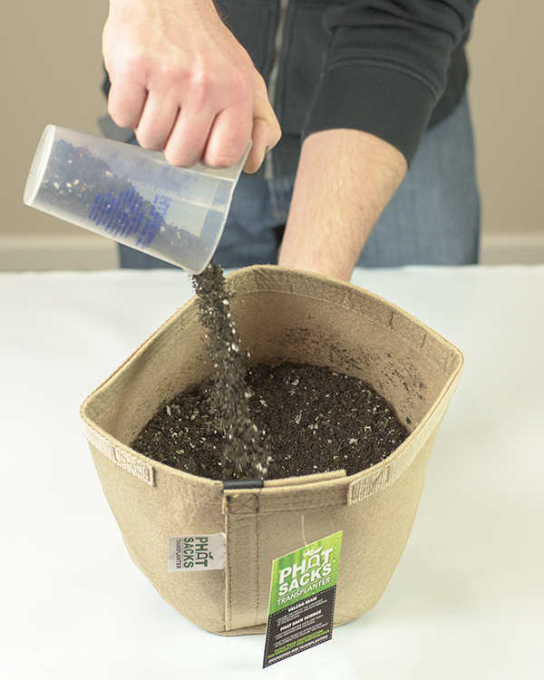 Step 2-1 - Fill the Container