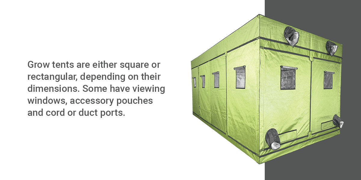 Grow Tent Size Options